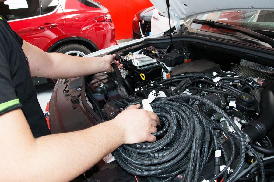 Installazione impianto metano su Jeep Grand Cherokee diesel