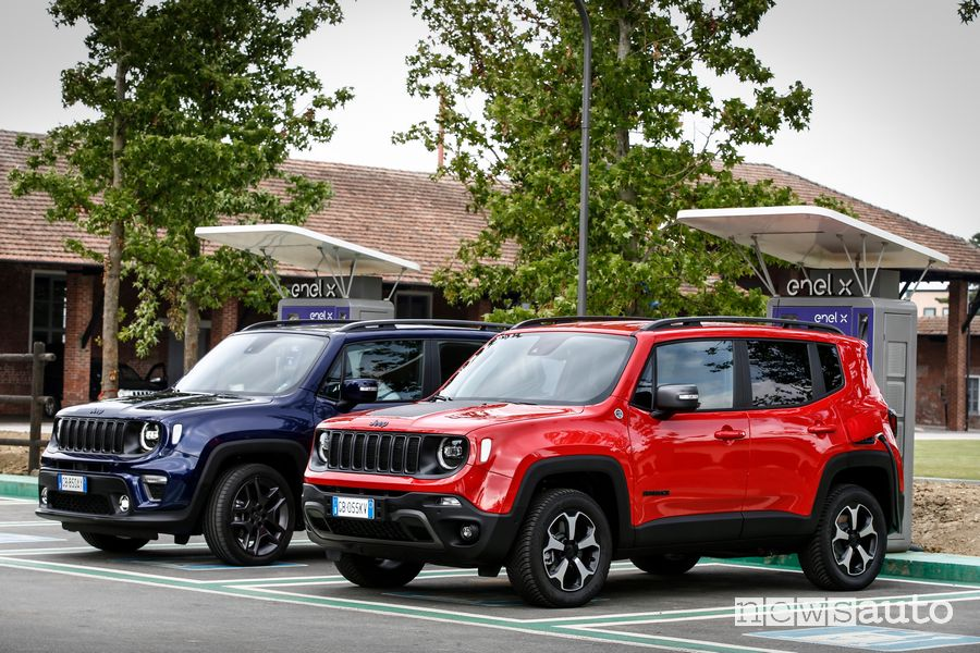 Jeep Renegade 4xe ibrida plug-in