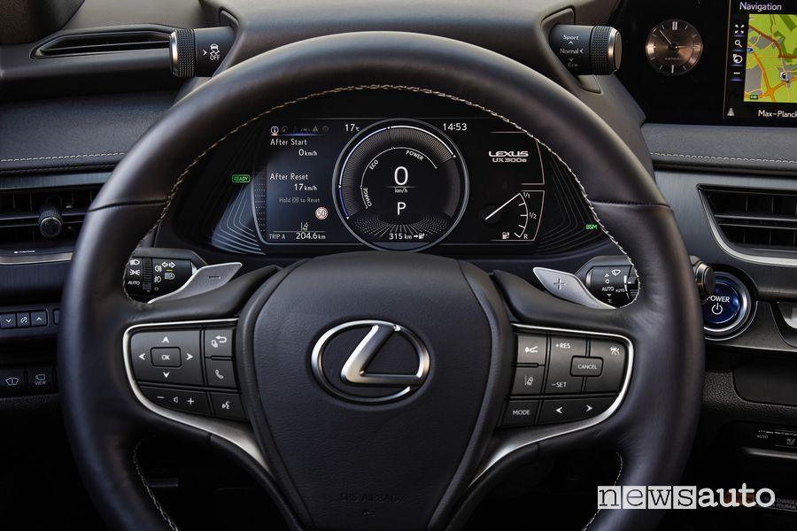 Quadro strumenti cruscotto Lexus UX 300e elettrica