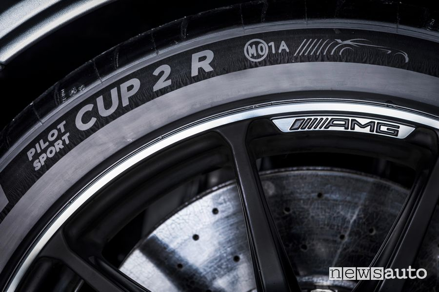 Pneumatici Michelin Pilot Sport Cup 2 Mercedes-AMG GT Black Series