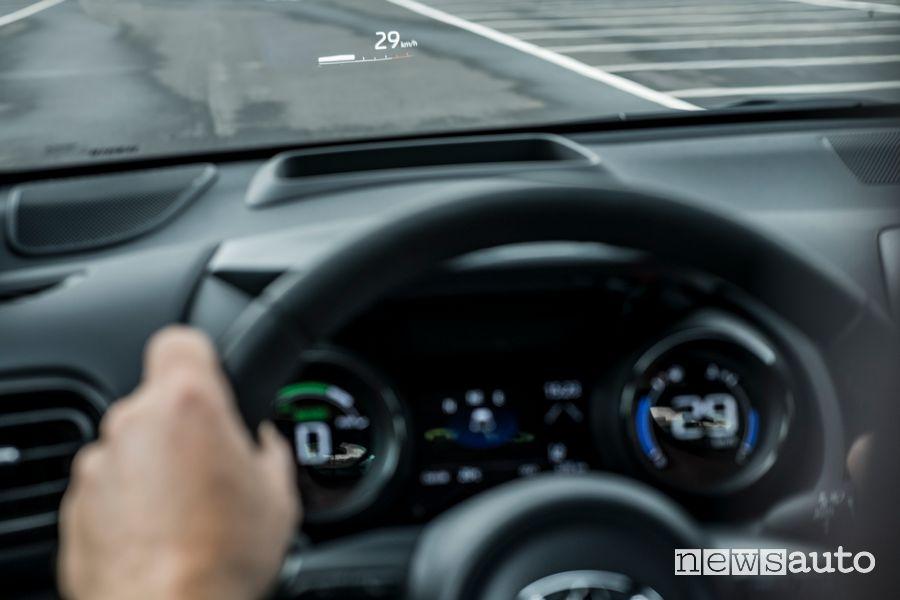Quadro strumenti abitacolo nuova Toyota Yaris