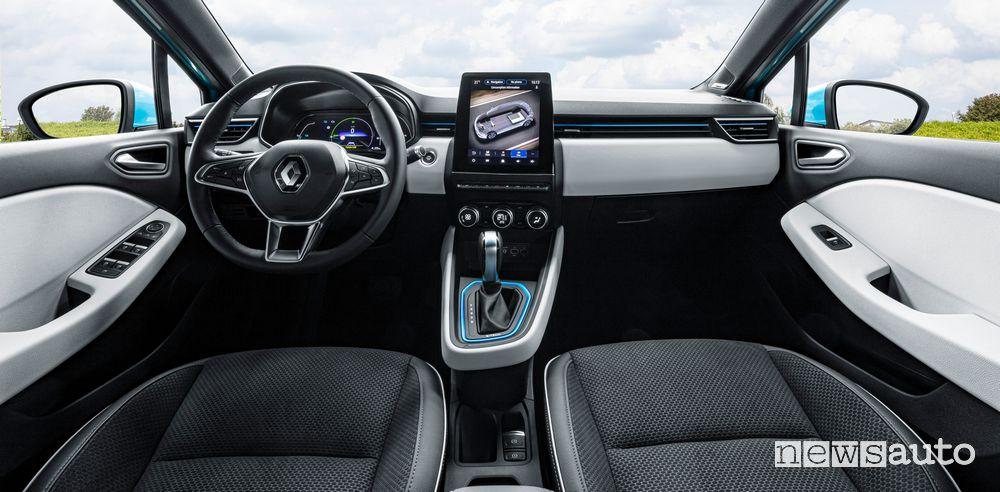 Plancia strumenti abitacolo Renault Clio E-Tech ibrida