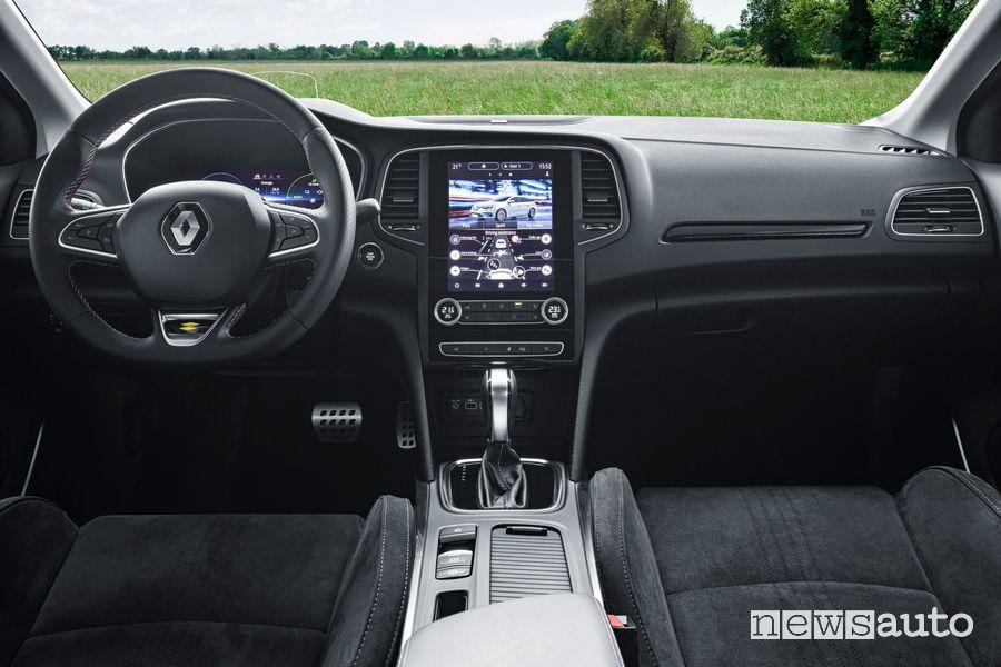 Plancia strumenti abitacolo Renault Mégane E-Tech plug-In PHEV
