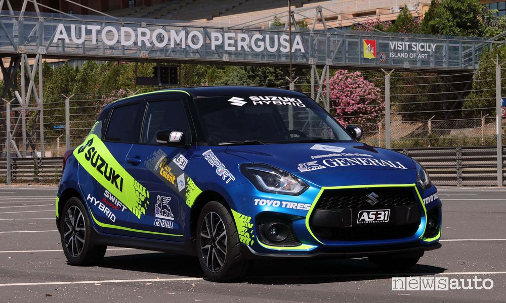 Suzuki Swift Sport Hybrid Auto Ufficiale Rally Italia Talent 2020