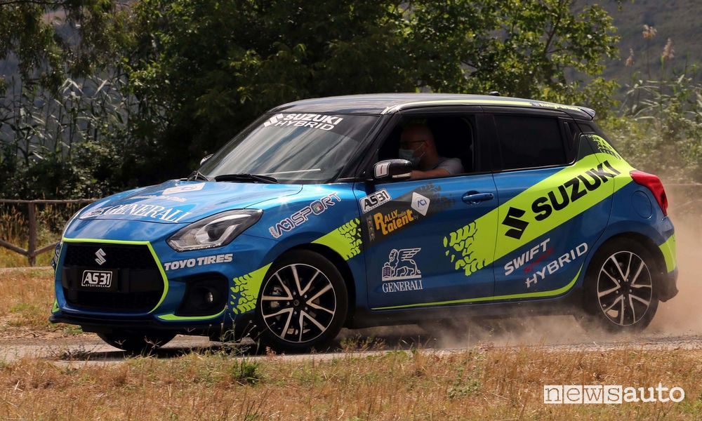 Suzuki Swift Sport Hybrid Rally Italia Talent 2020