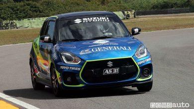 Suzuki Swift Sport Hybrid Rally Italia Talent 2020