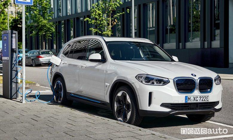 BMW iX3 SUV elettrico
