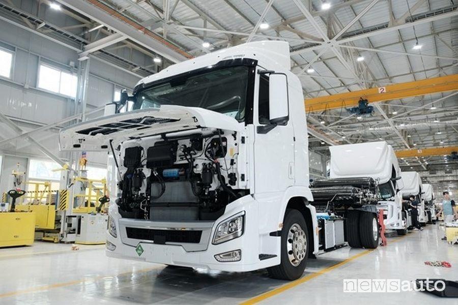 Camion ad idrogeno Hyundai, caratteristiche e autonomia