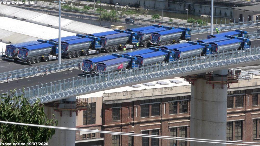 Collaudo Ponte Morandi di Genova
