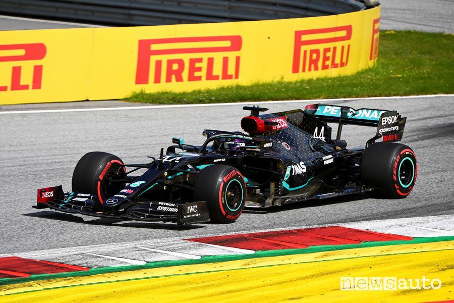 Lewis Hamilton domina il Gp di Stiria F1 2020
