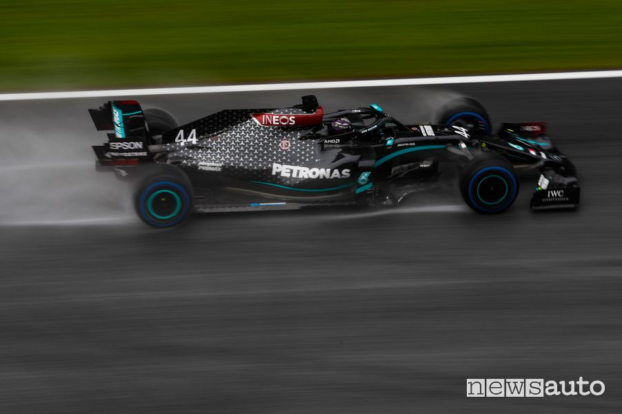 Qualifiche F1 Gp Stiria 2020 Mercedes-AMG pole position Lewis Hamilton
