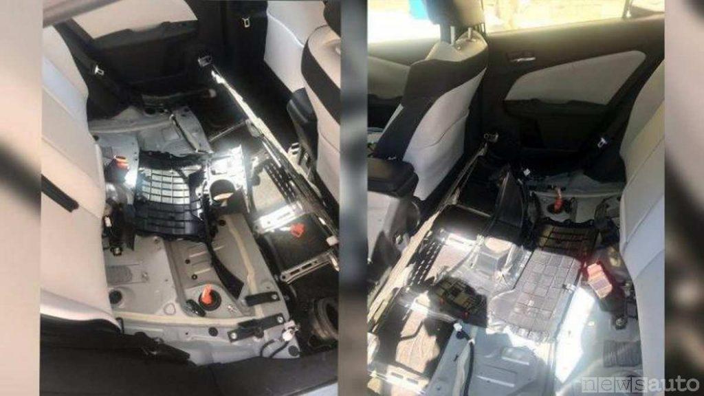 Furti batterie auto ibrida e danni relativi allo scasso e forzatura
