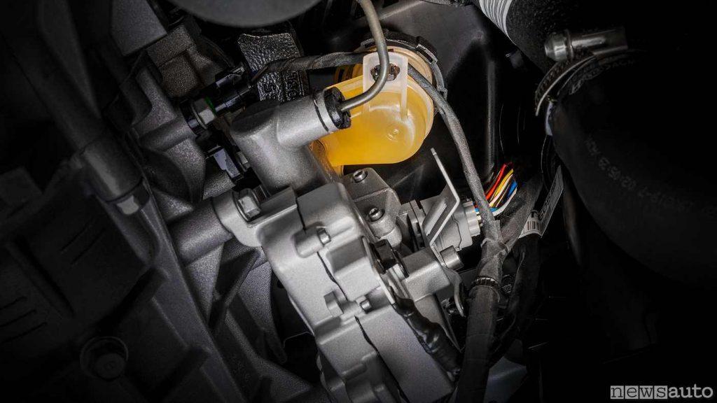 Servocomando elettrico sulla frizione dell cambio meccanico KIA iMT