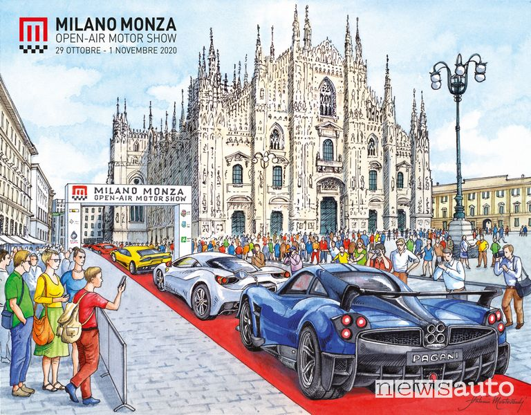 Milano Monza Motor Show 2021, President Parade