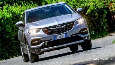 prova su strada Opel Grandland X 1200 turbo 2020
