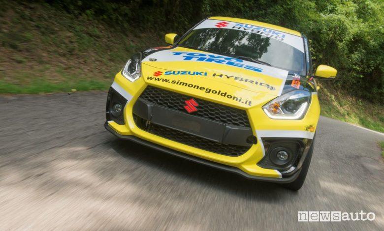 Suzuki Swift Sport Hybrid R1 rally