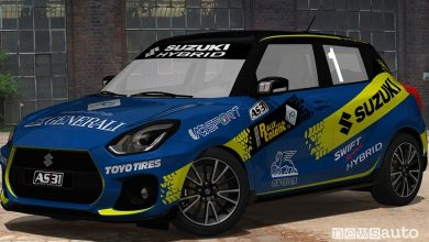 Photo of Suzuki Swift Sport Hybrid, auto ufficiale Rally Italia Talent 2020