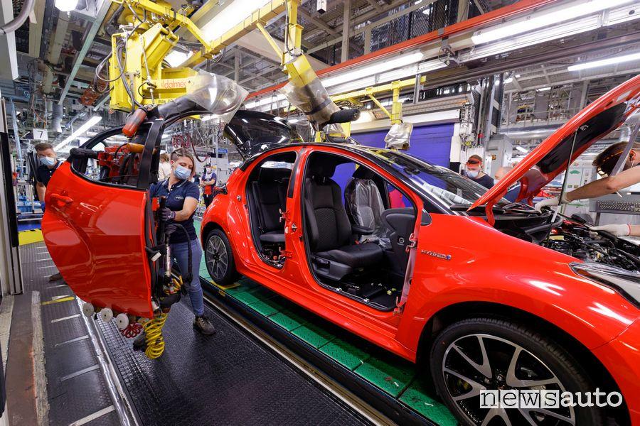 Nuova Toyota Yaris, inizia la produzione nella fabbrica di Valenciennes, nel nord della Francia