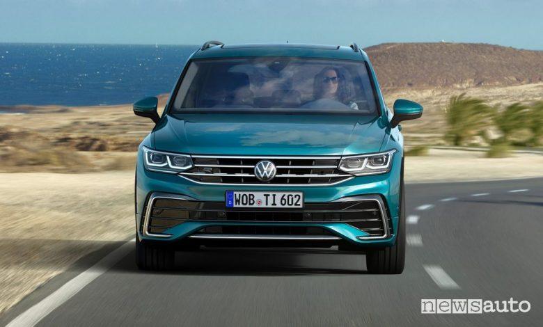 Volkswagen Tiguan prezzo, allestimenti e gamma italiana