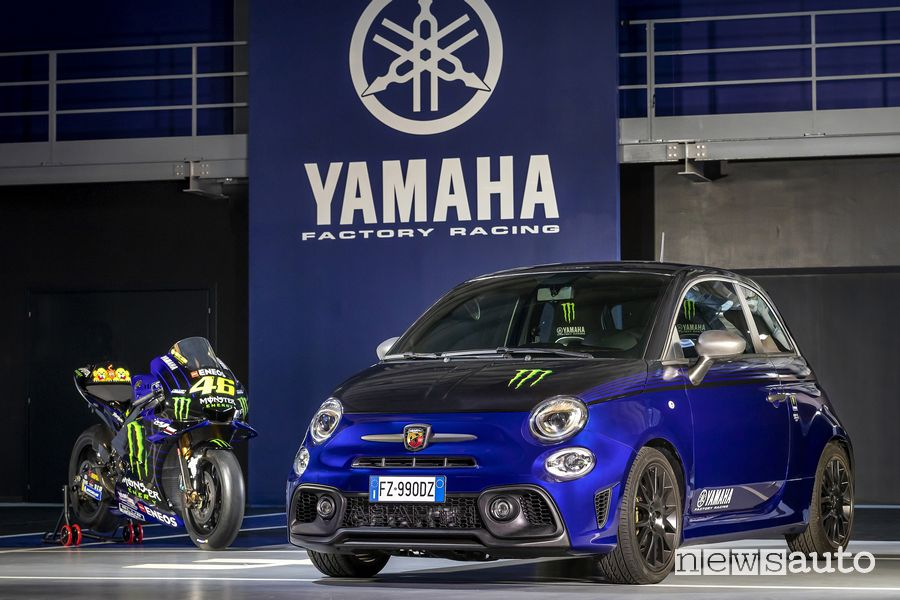 Abarth serie speciale 595 Monster Energy Yamaha