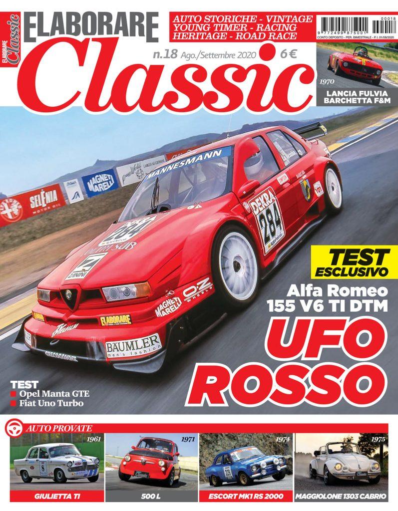 Il magazine che tratta auto classiche sportive, anche preparate da gara si chiama ELABORARE CLASSIC