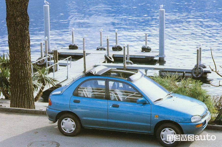 Mazda 121, 2^ Generazione del 1991