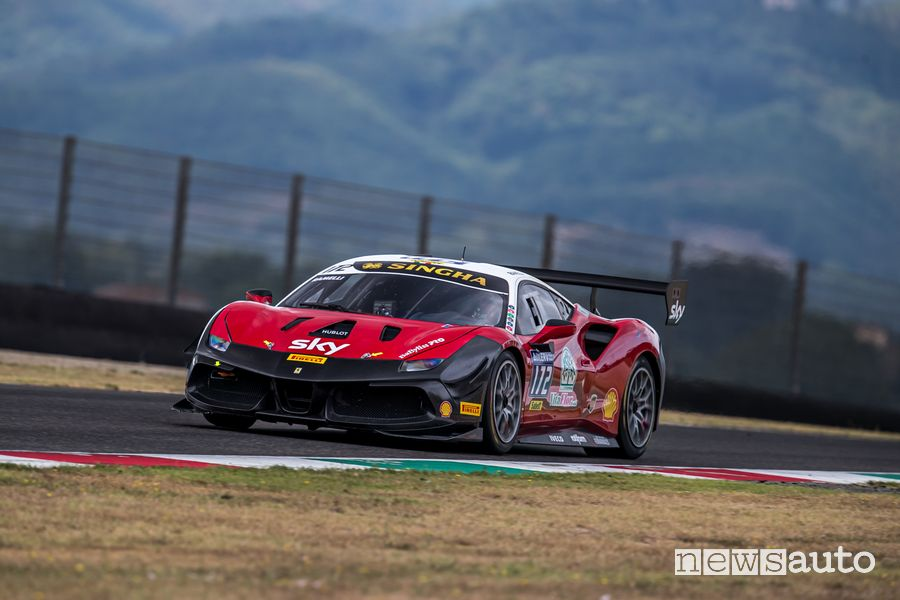 Ramelli - Team Pellin - Vincitore Categoria AM coppa Shell Gara 1 Ferrari Challenge al Mugello