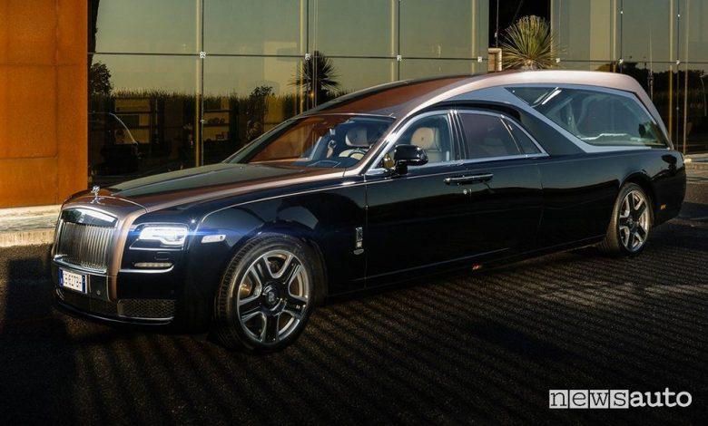 Auto funebre Ghoster Rolls Royce Biemme Special Cars