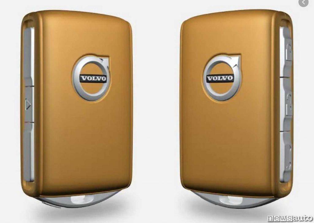 Care Key,  chiave telecomando per impostare la velocità massima sulle Volvo
