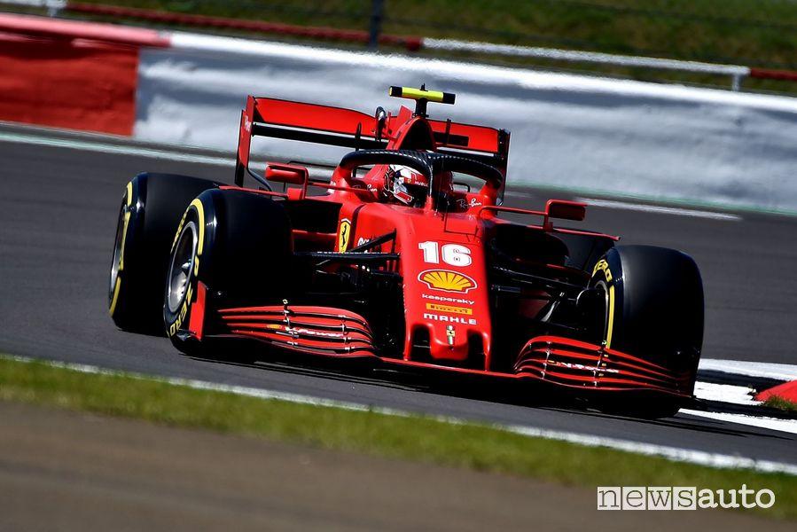 F1 Gp Gran Bretagna 2020 ferrari leclerc