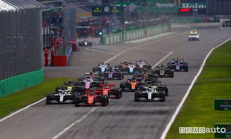 Orari Gp Italia F1 2020, diretta SKY e TV8