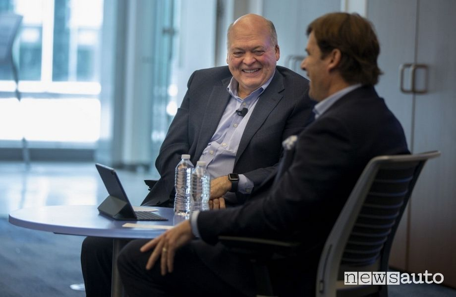 Jim Farley CEO e Presidente Ford Jim Hackett