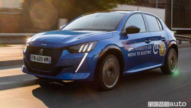 Photo of Auto elettriche, autonomia maggiore per la Peugeot e-208 in gara