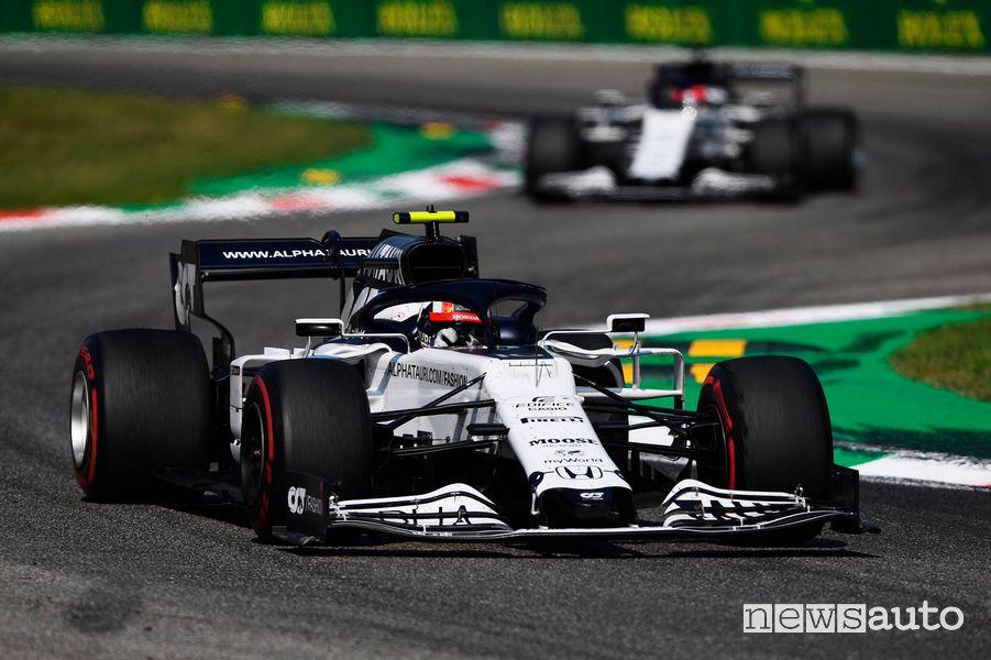 F1 Gp Italia a Monza 2020, vittoria AlphaTauri con Gasly (motore Honda)