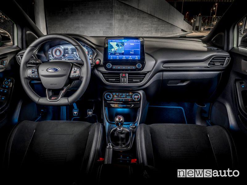 Plancia strumenti abitacolo Ford Puma ST