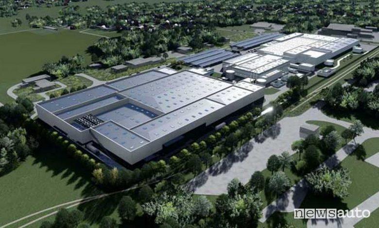 Gigafactory europea PSA in Francia e Germania