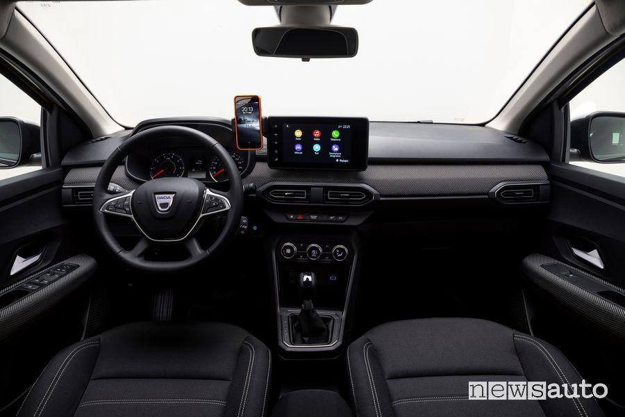 Plancia strumenti abitacolo nuova Dacia Logan