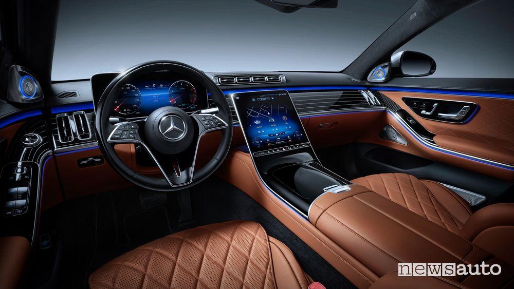 Plancia strumenti abitacolo Mercedes-Benz Classe S