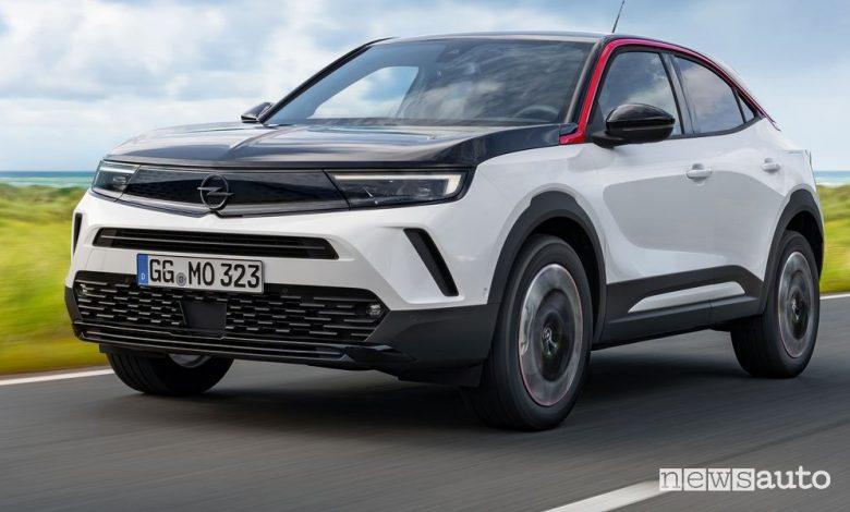 Nuovo Opel Mokka gamma, allestimenti e prezzi