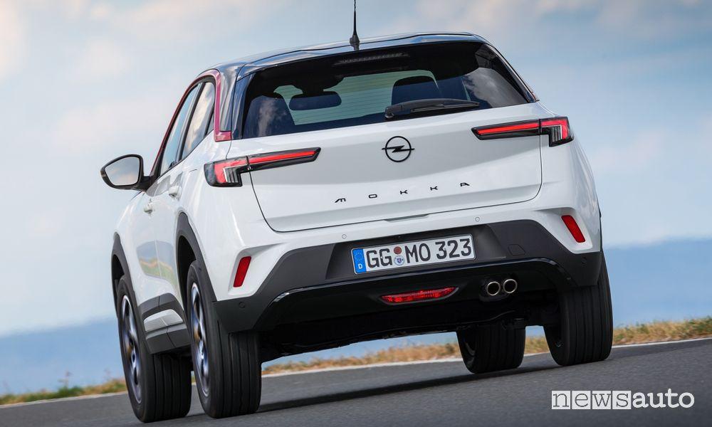Paraurti posteriore nuovo Opel Mokka GS Line