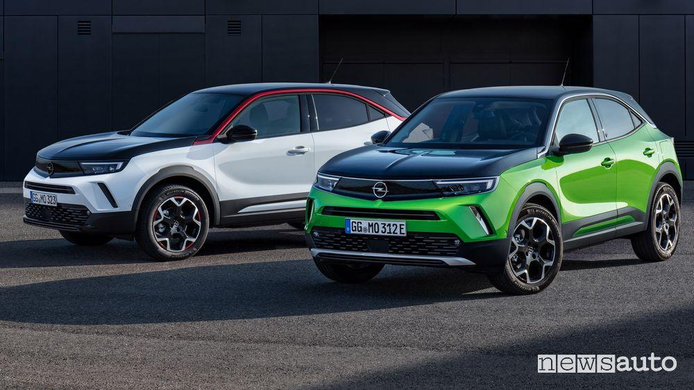 Opel Mokka allestimenti Edition, Elegance, GS Line, Ultimate e GS Line+