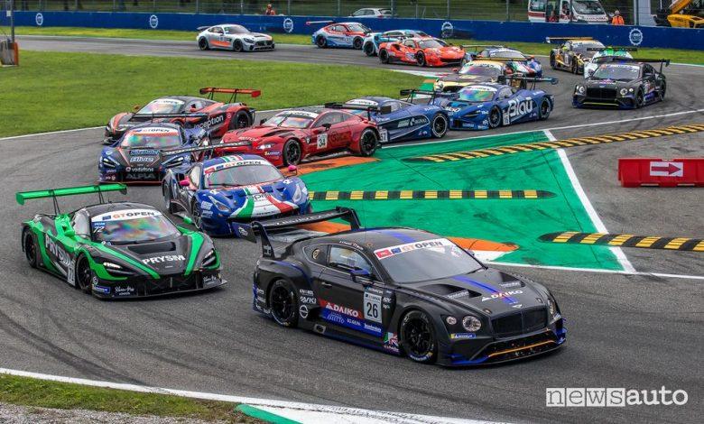 International GT Open 2020, spettacolo GT3 a Monza