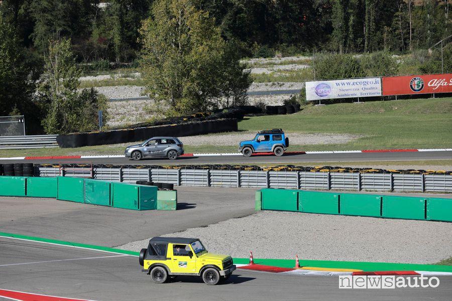 9° raduno Suzuki 4x4 in pista a Varano de' Melegari
