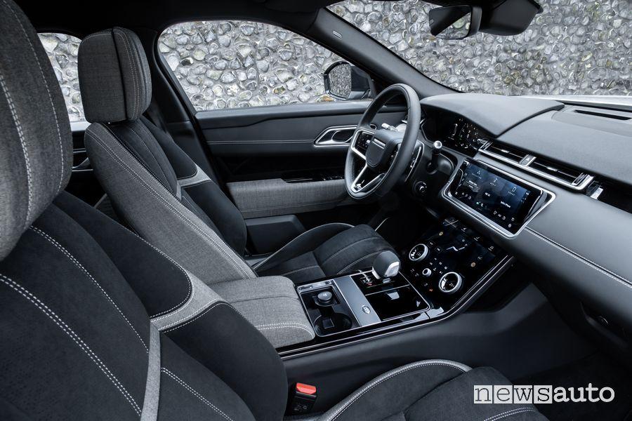 Plancia strumenti abitacolo Range Rover Velar P400e ibrida plug-in
