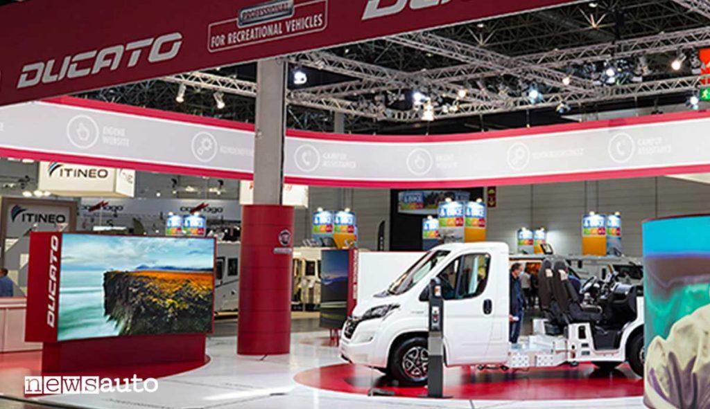 Fiat Professional Ducato My2020 al Salone del Camper 2020 di Parma