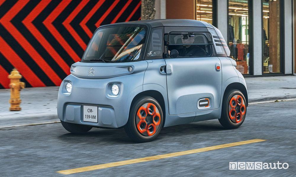 Citroën Ami, per la prima volta in Italia alla Milano Design City