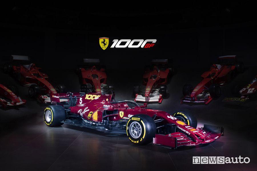 livrea Ferrari Gp Toscana