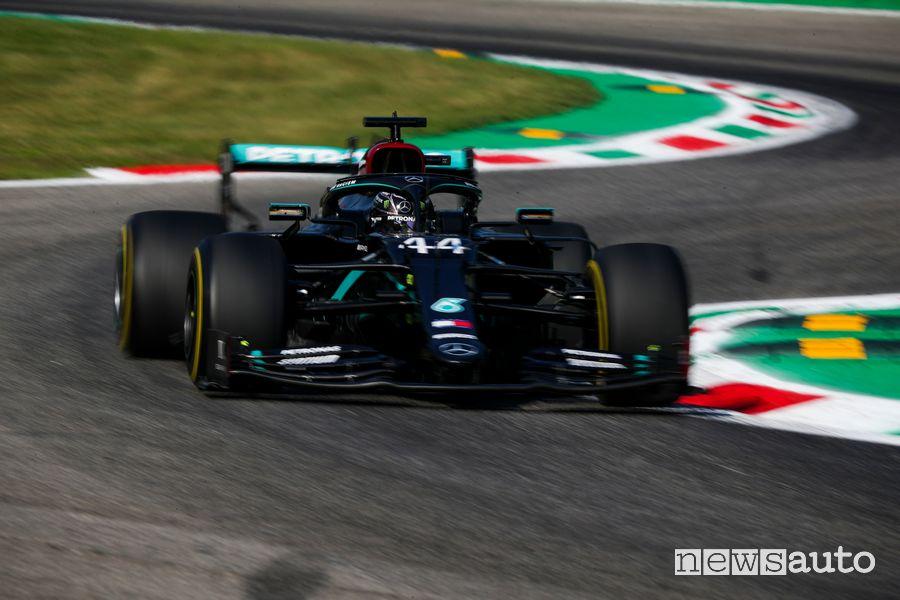 F1 Gp Italia record della pista di Monza Lewis Hamilton
