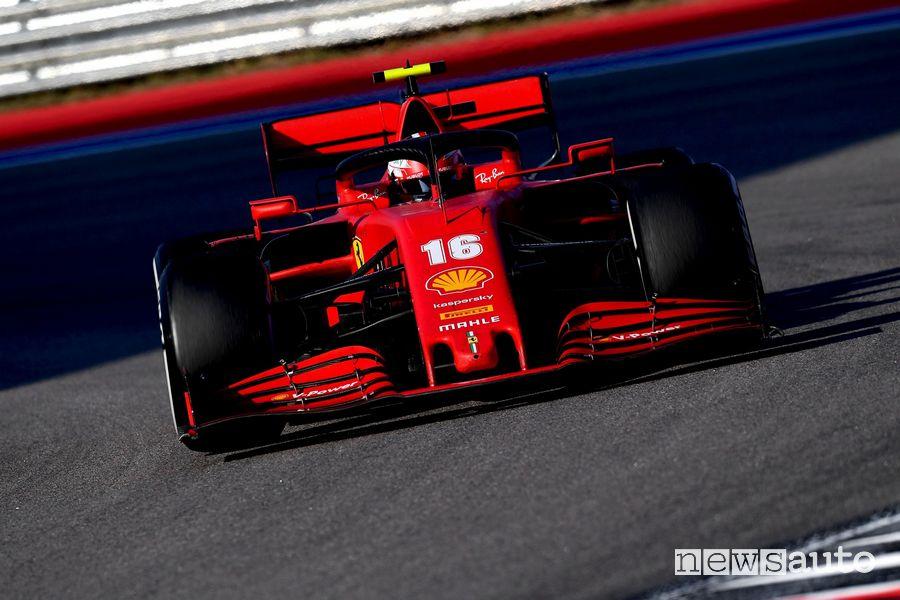 F1 Gp Russia ferrari charles leclerc