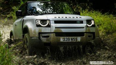 Land Rover Defender 90 e 110, caratteristiche MY 2021